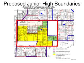 Proposed Junior High Boundaries
