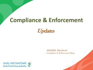 Compliance & Enforcement