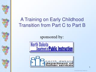 A Training on Early Childhood Transition from Part C to Part B
