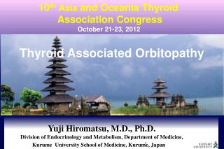 Thyroid Associated  Orbitopathy
