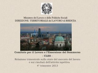 Comitato per il Lavoro e l'Emersione del Sommerso - CLES -