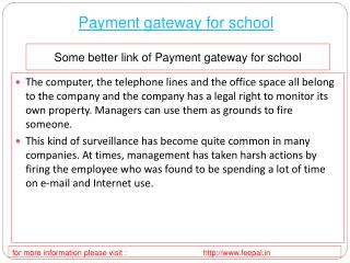 All You Need to Know about payment gateway for school
