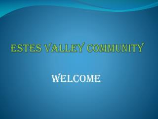 Estes valley community