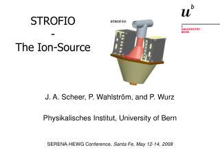 STROFIO - The Ion-Source
