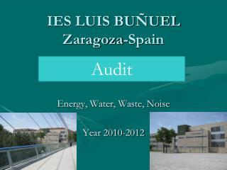 IES LUIS BUÑUEL Zaragoza-Spain