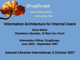 Information Architecture for Internal Users