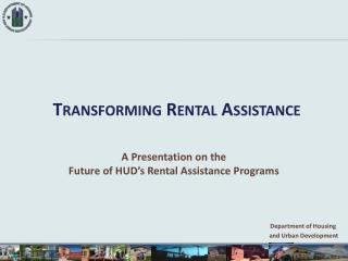 Transforming Rental Assistance