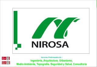 Servicios Profesionales de : Ingeniería, Arquitectura, Urbanismo,