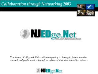 NJ System of Higher Education