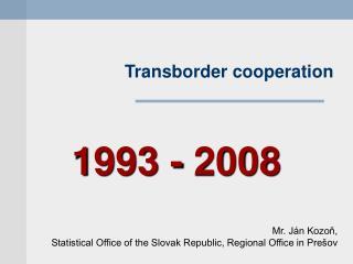 Transborder cooperation