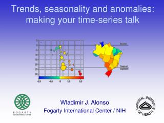 Trends, seasonality and anomalies:  making your time-series talk