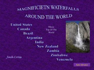 MAGNIFICIETN WATERFALLS AROUND THE WORLD