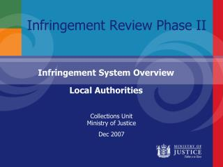 Infringement Review Phase II