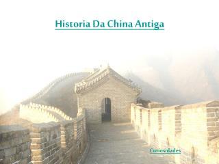 Historia Da China Antiga