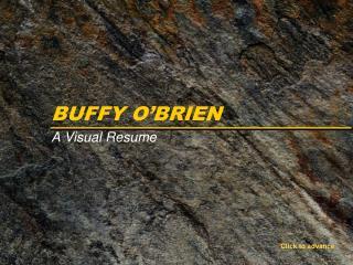 BUFFY O'BRIEN