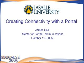 Creating Connectivity with a Portal