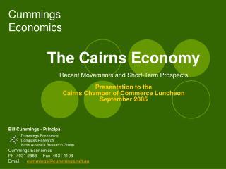 Cummings Economics