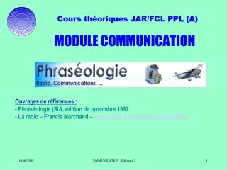 MODULE COMMUNICATION