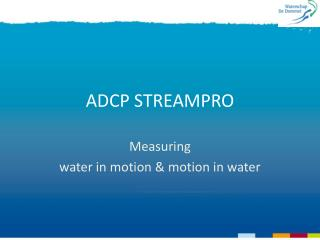 ADCP STREAMPRO