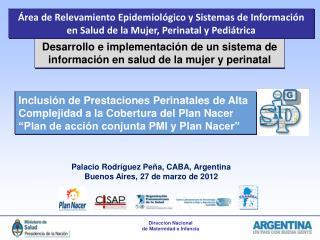 Desarrollo e implementación de un sistema de información en salud de la mujer y perinatal