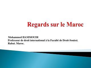 Regards sur le Maroc