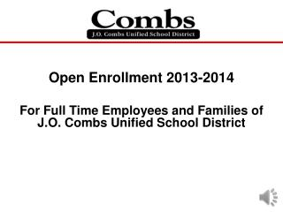 Open Enrollment 2013-2014