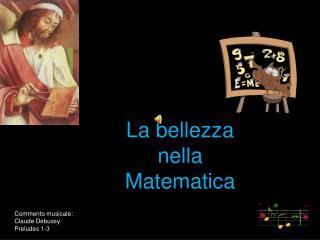 La bellezza  nella  Matematica