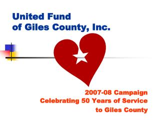 United Fund  of Giles County, Inc.