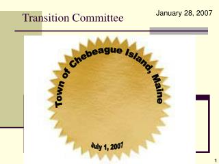 Transition Committee