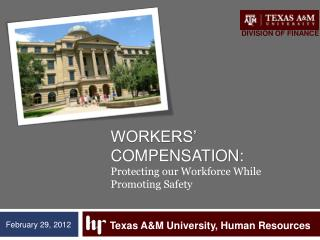 Workers' Compensation: Protecting our Workforce While Promoting Safety
