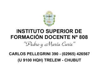 CAJA CURRICULAR  CARRERA ACTUAL I.S.F.D. Nº 808 – Trelew