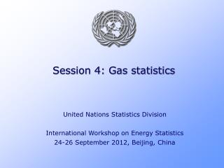 Session 4: Gas statistics