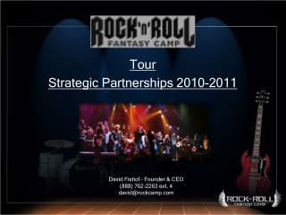 Tour  Strategic Partnerships 2010-2011