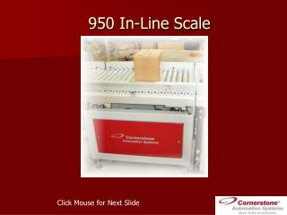 950 In-Line Scale
