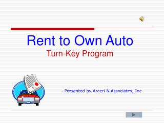 Rent to Own Auto Turn-Key Program