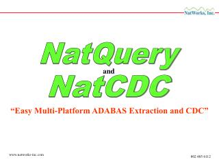 """Easy Multi-Platform ADABAS Extraction and CDC"""