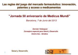 Las reglas del juego del mercado farmacéutico: innovación, patentes y acceso a medicamentos