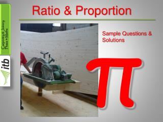 Ratio & Proportion