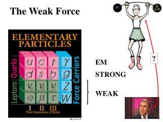 The Weak Force