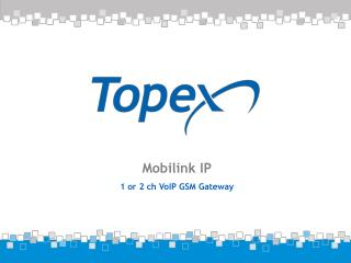 Mobilink IP 1 or 2 ch VoIP GSM Gateway