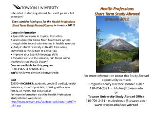 Interested in studying abroad, but can't go for a full semester?