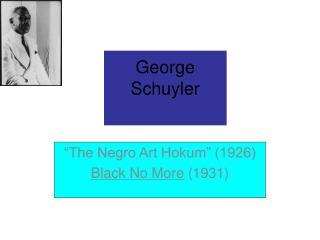 George Schuyler