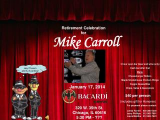 Retirement Celebration for