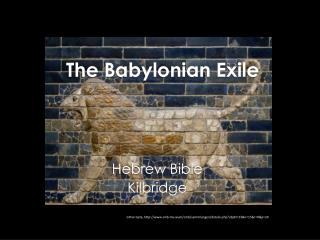 The Babylonian Exile