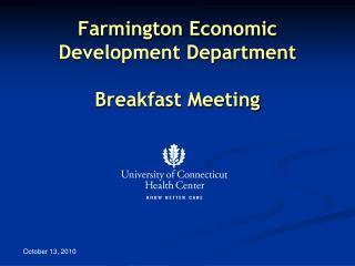Farmington Economic