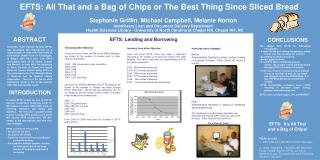 EFTS:  It�s All That   and a Bag of Chips! References:
