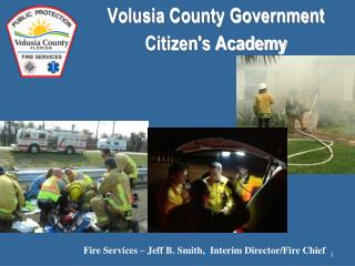 Volusia County Government Citizen's Academy