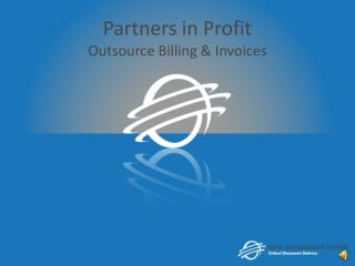 Partners in Profit Outsource Billing & Invoices