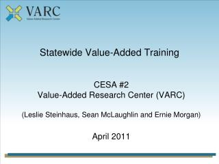 Statewide Value-Added Training