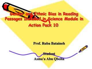 Gender and Ethnic Bias in Reading Passages Included in Science Module in Action Pack 10